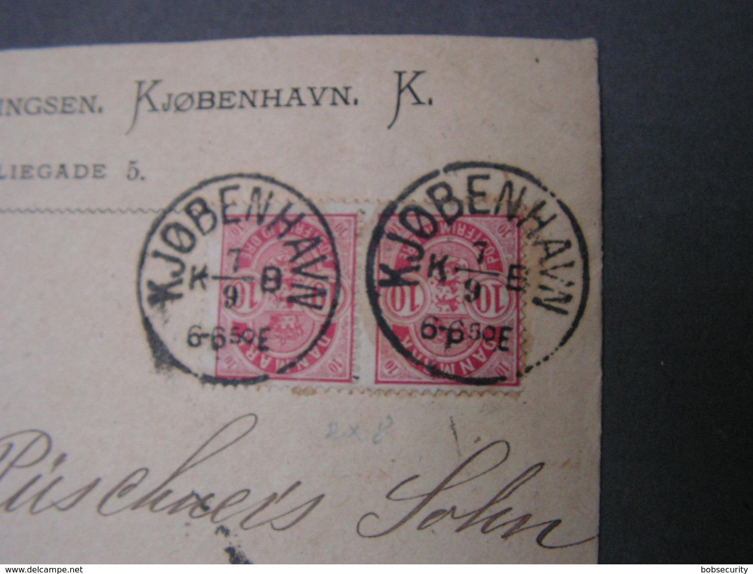 DK Cv. 1886 - Briefe U. Dokumente