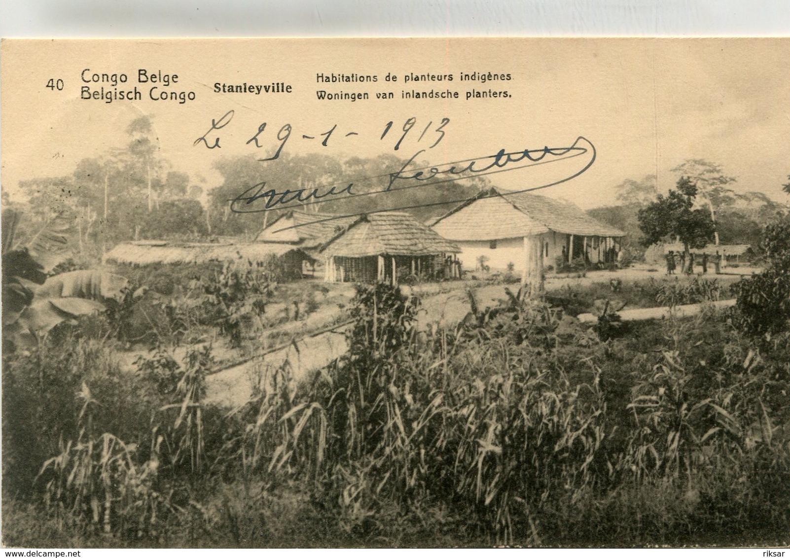 CONGO BELGE(STANLEYVILLE) - Congo Belga - Otros