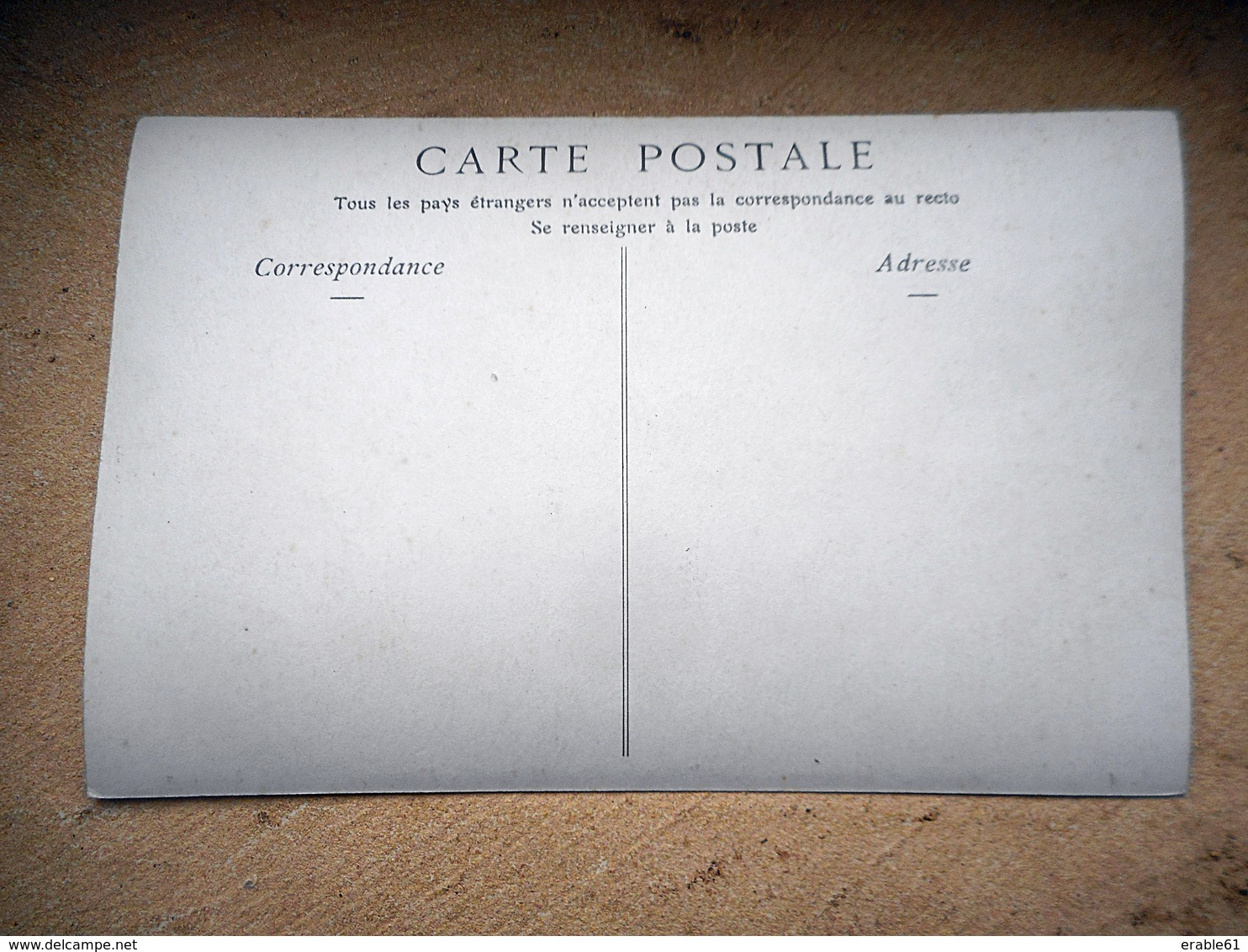 CARTE PHOTO PARIS LA SORBONNE M LE PROFESSEUR VELAIN GEOGRAPHIE PHYSIQUE - Bildung, Schulen & Universitäten