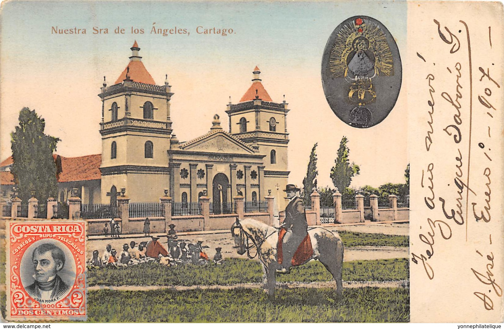 Costa Rica / 04 - Nuestra Sra De Los Angeles - Cartago - Belle Oblitération - Costa Rica