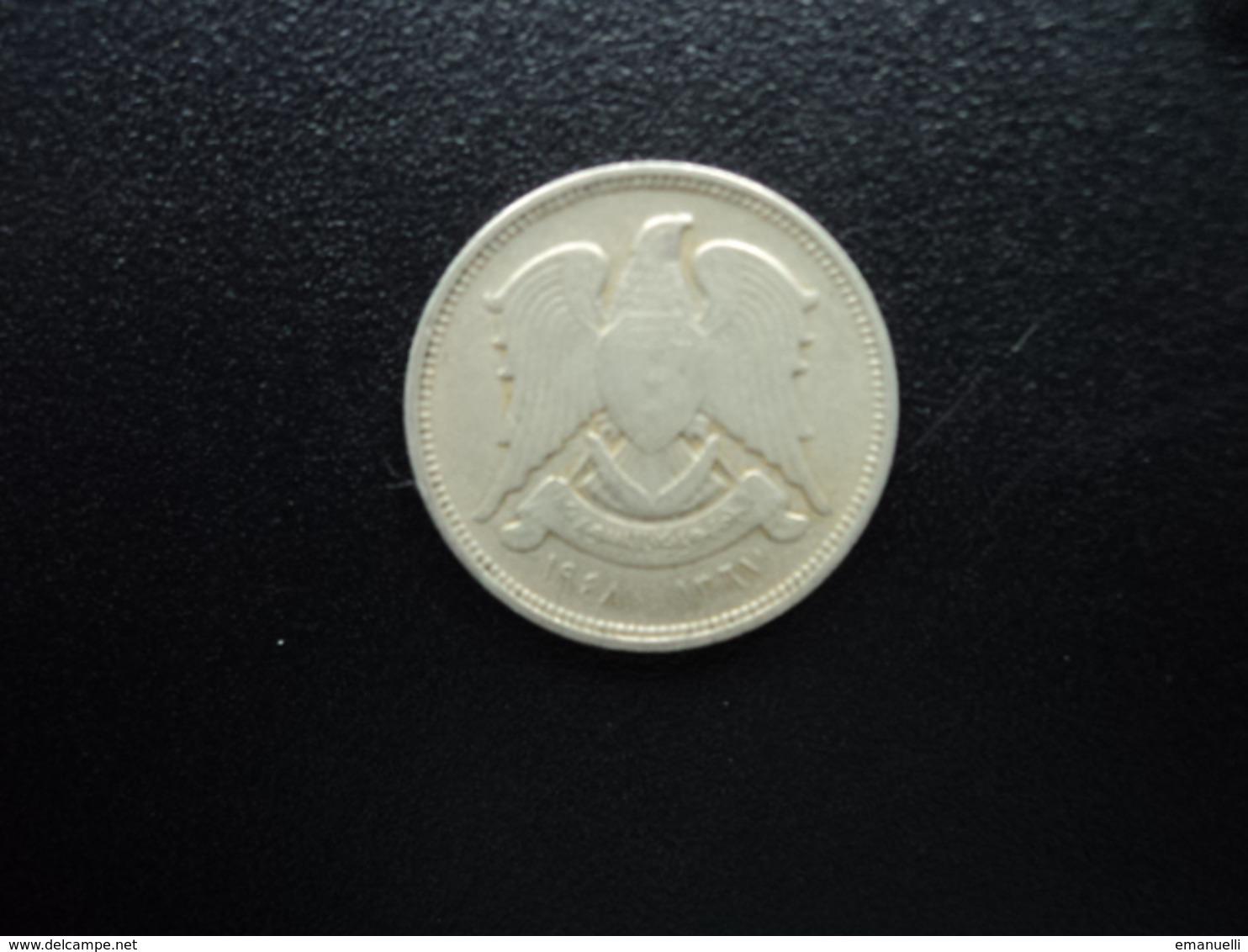 SYRIE : 5 PIASTRES  1948 - 1367   KM 82    TTB - Syrie