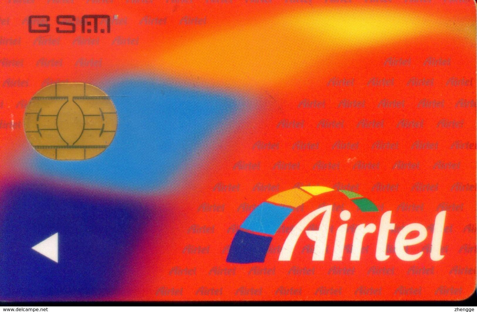 Spain GSM SIM Cards,  (1pcs) - Airtel