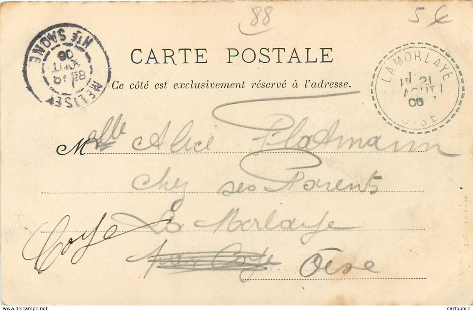 88 - VAL D'AJOL - Gare De Faymont En 1906 - France