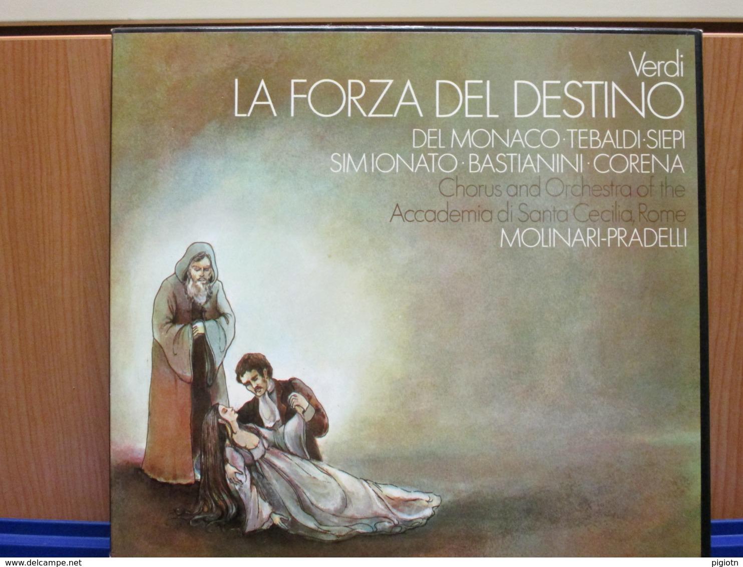 LP005 - COFANETTO 3 LP + LIBRETTO - LA FORZA DEL DESTINO - - Oper & Operette