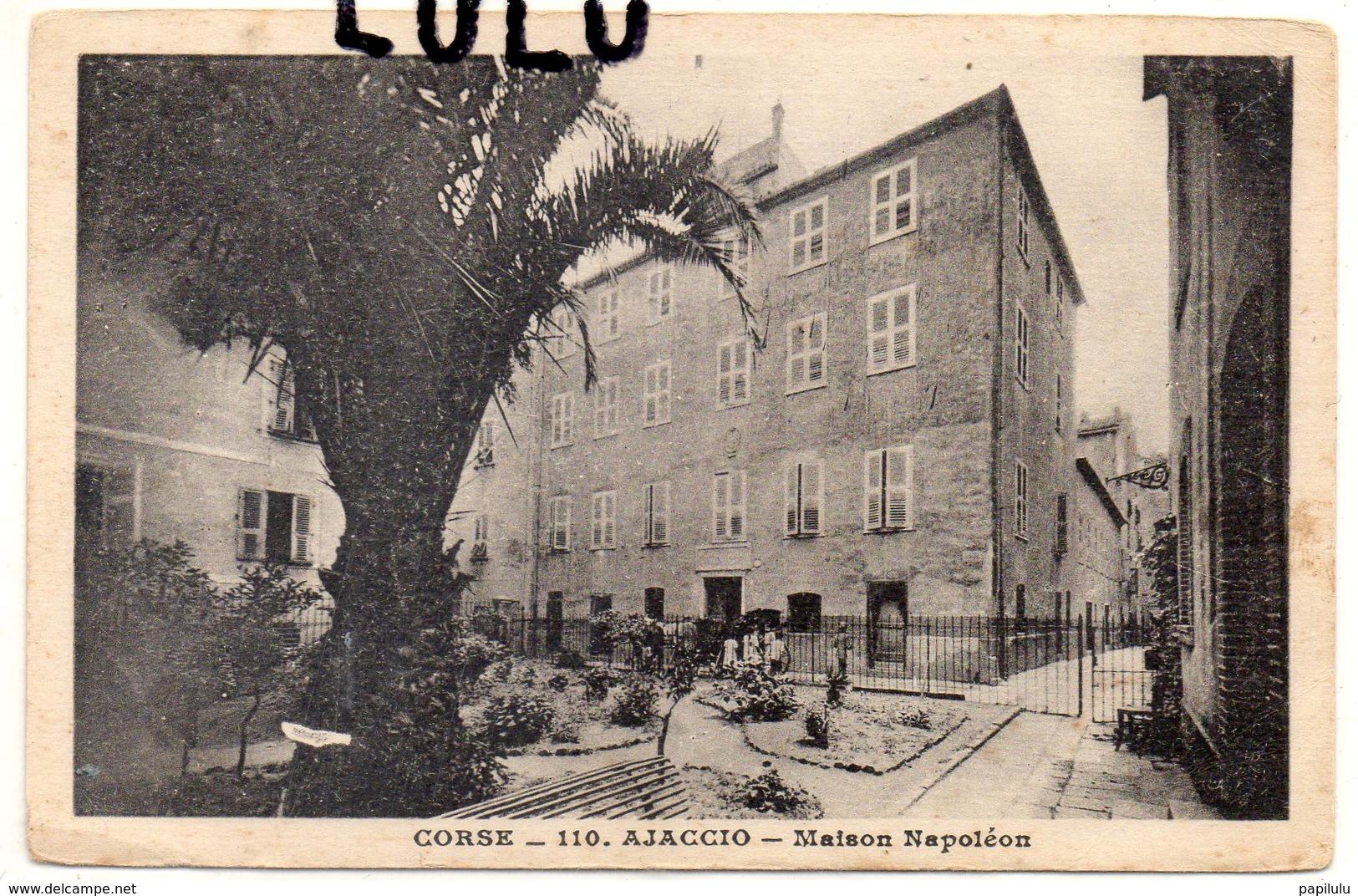 DEPT 20-2A : édit. A Tomasi N° 110 : Ajaccio Maison Napoléon - Ajaccio