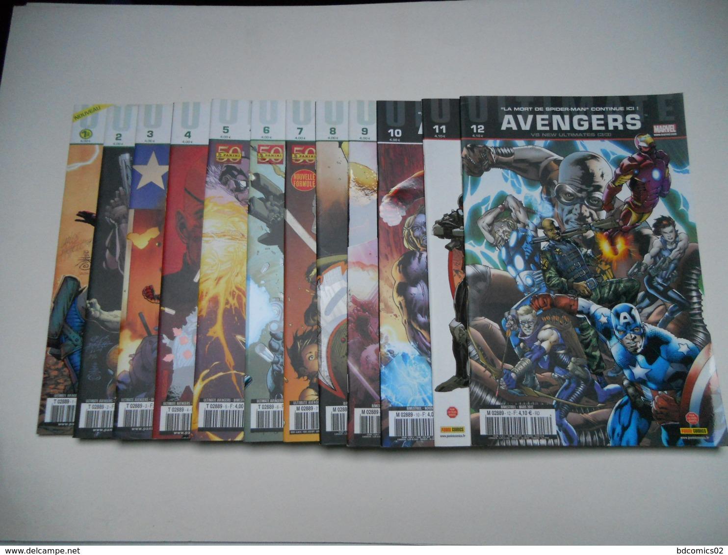 Avengers Ultimate Collection Complete Du N°1 Au N°12 Marvel Panini Comics Tbe - Books, Magazines, Comics