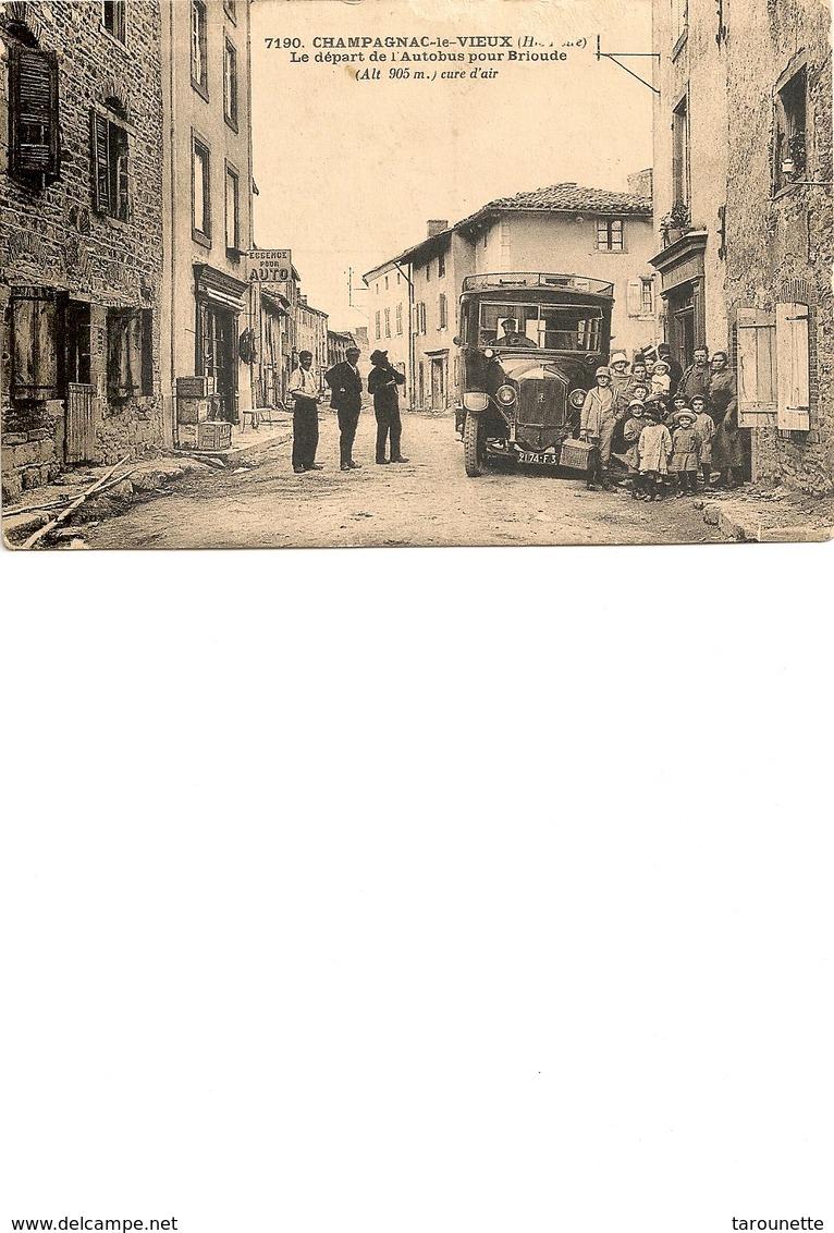 Champagnac Le Vieux - Andere Gemeenten