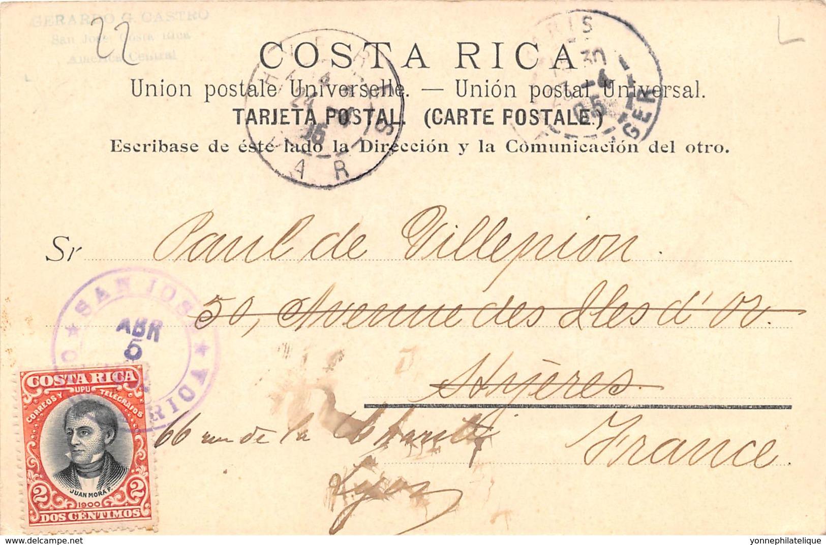 Costa Rica / 22 - Beau Cliché - Belle Oblitération - Costa Rica