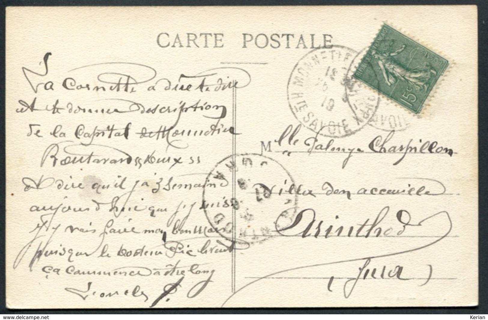 Monnetier (Mairie) - La Gare - A. Gardet Annecy N° 3046 - Voir 2 Scans - France