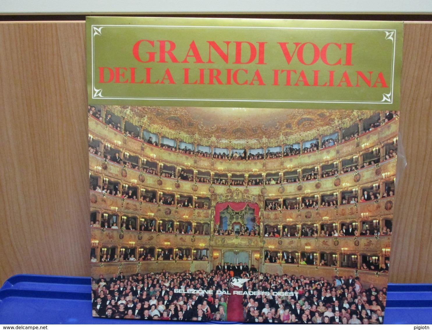 LP035 -GRANDI VOCI DELLA LIRICA ITALIANA-CALLAS-SIEPI-BERGONZI-PAGLIUGHI-CORELLI-TADDEI-SIMIONATO-TAGLIAVINI-TEBALDI - Oper & Operette