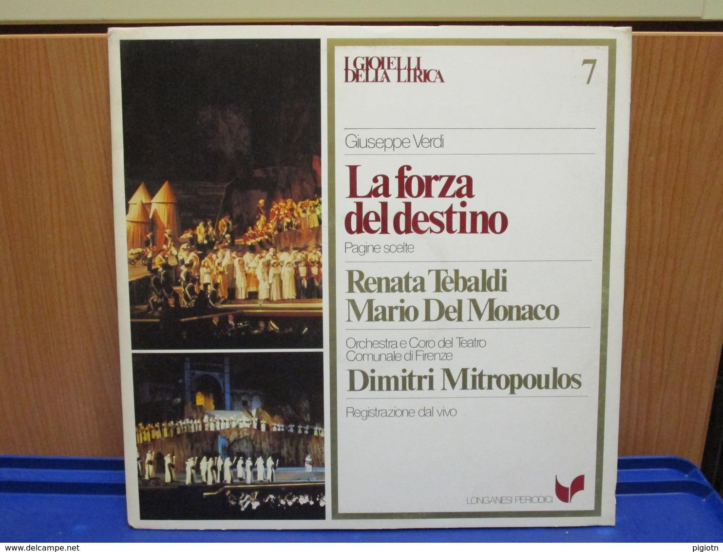 LP044 -I GIOIELLI DELLA LIRICA - LA FORZA DEL DESTINO - N. 7 - RENATA TEBALDI-MARIO DEL MONACO - Oper & Operette