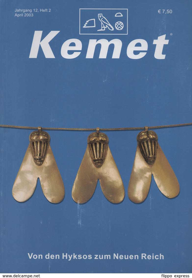 Egypt: Kemet Magazine, 2003, Jrg. 12, Heft 1, 2, 3, 4 - Tijdschriften