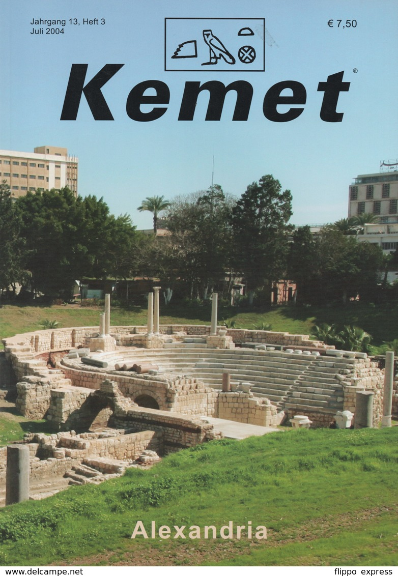 Egypt: Kemet Magazine, Juli 2004, Jrg. 13, Heft 3 - Tijdschriften