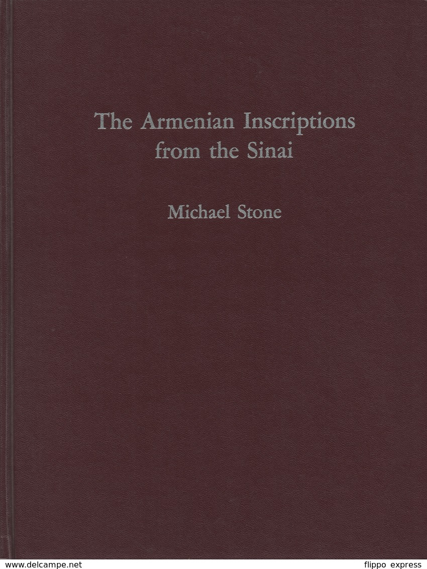 Egypt: The Armenian Inscriptions From The Sinai - Zonder Classificatie