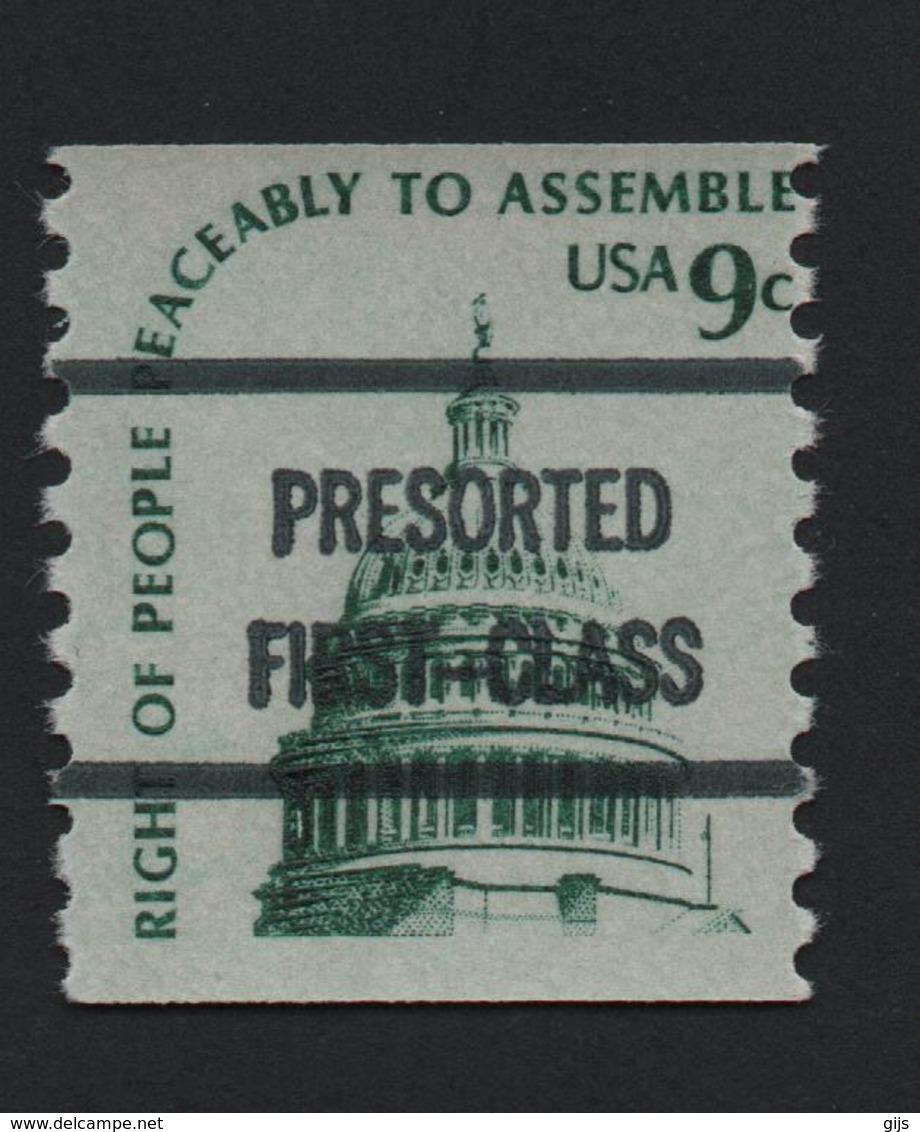 USA 1234 SCOTT 1591 PRESORTED FIRST CLASS - Estados Unidos