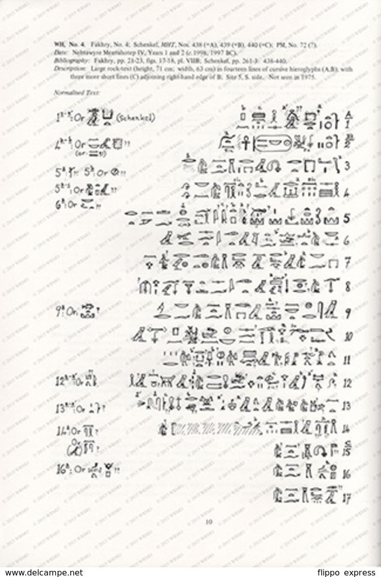 Egypt: The Amethyst Mining Inscriptions Of Wadi El-Hudi - Boeken, Tijdschriften, Stripverhalen