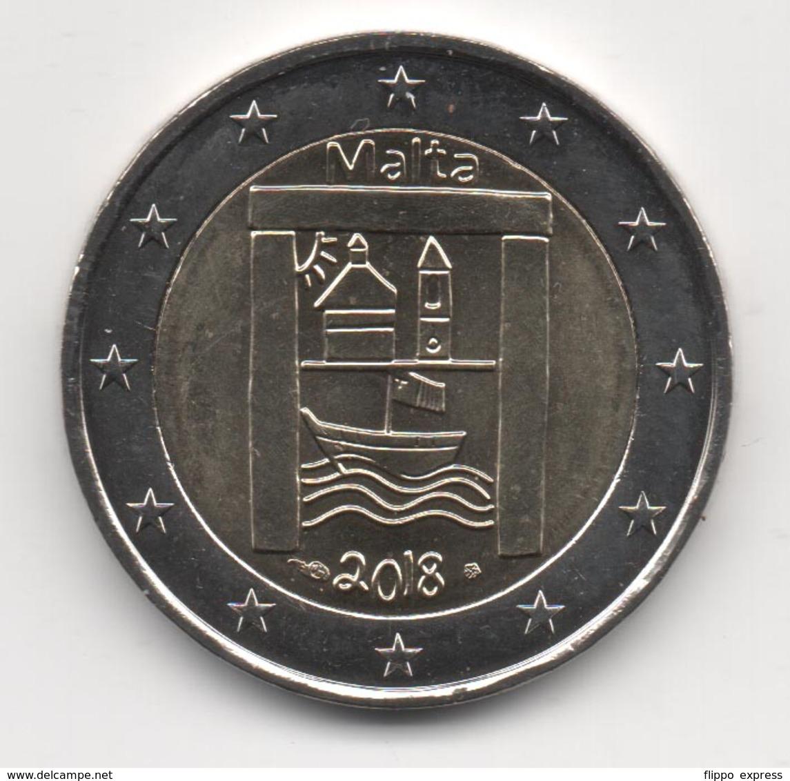 Malta 2018, 2 Euro, Cultural Heritage, MdP Mark, UNC - Malta
