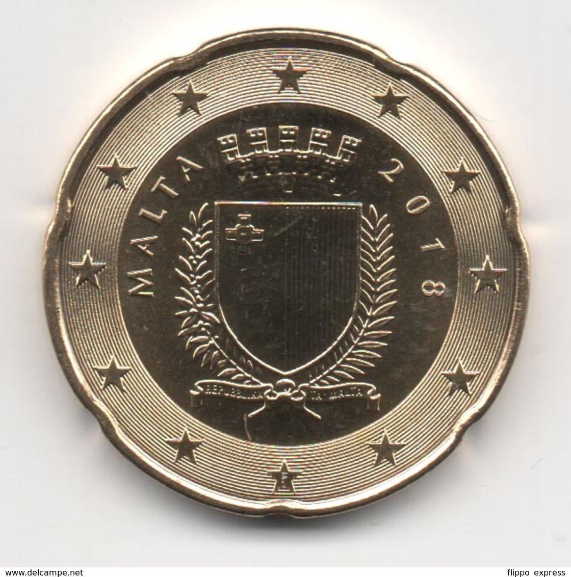 Malta 2018, 20 Euro Cent, UNC - Malte