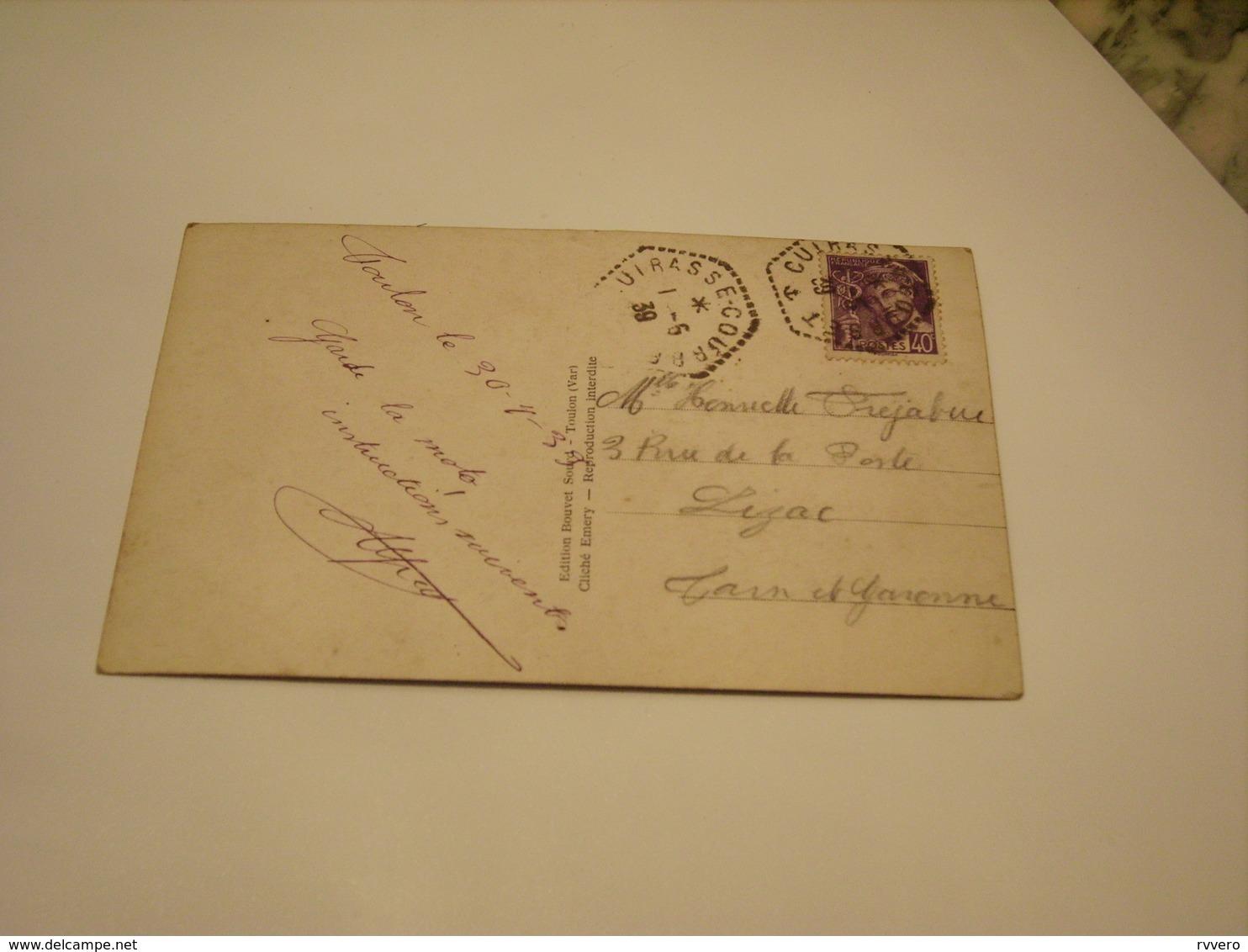 CUIRASSE COURBET 1939 - Matériel
