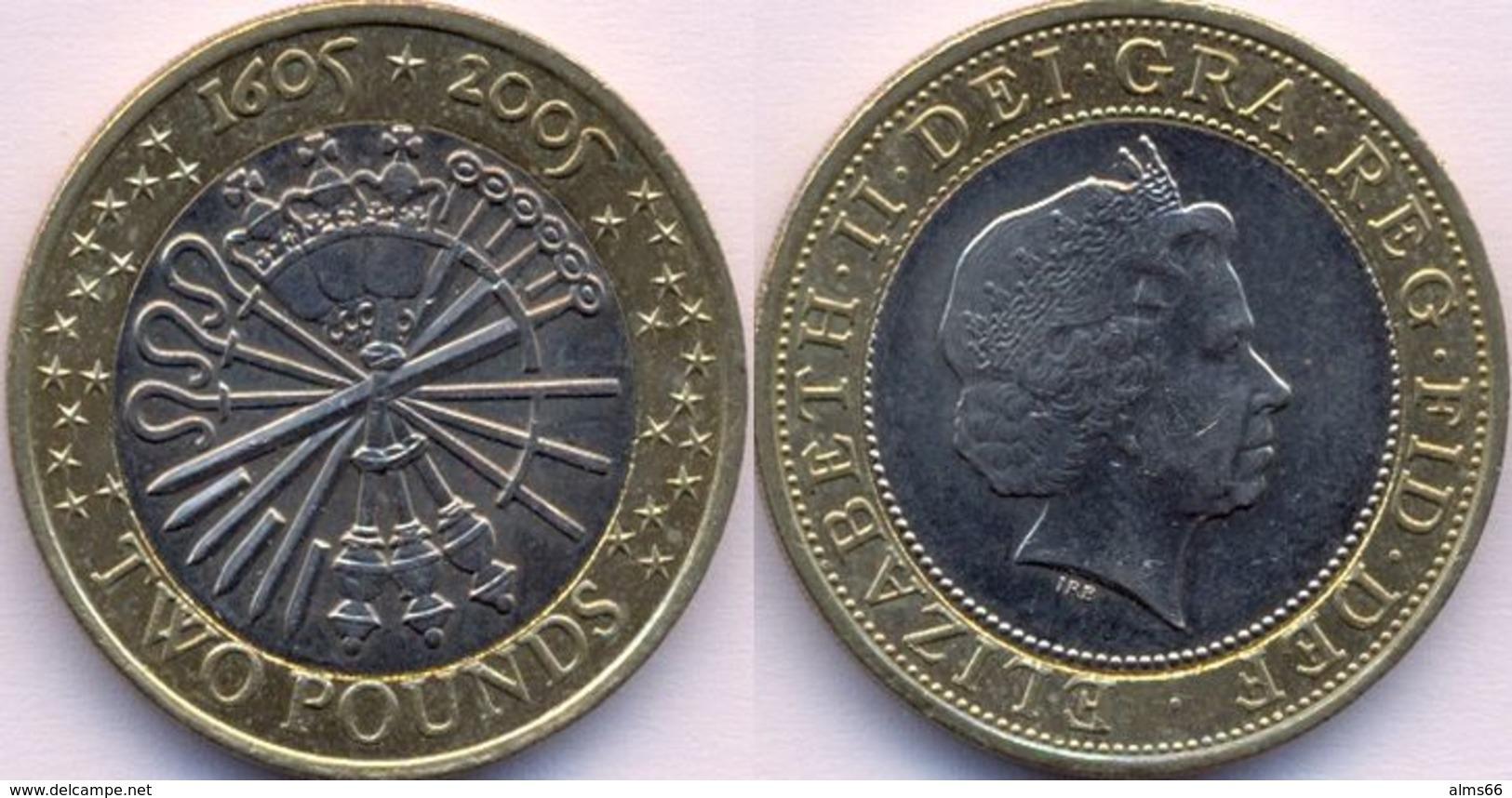 Great Britain UK 2 Pound 2005 VF  - Commemorative - - 1971-… : Decimal Coins
