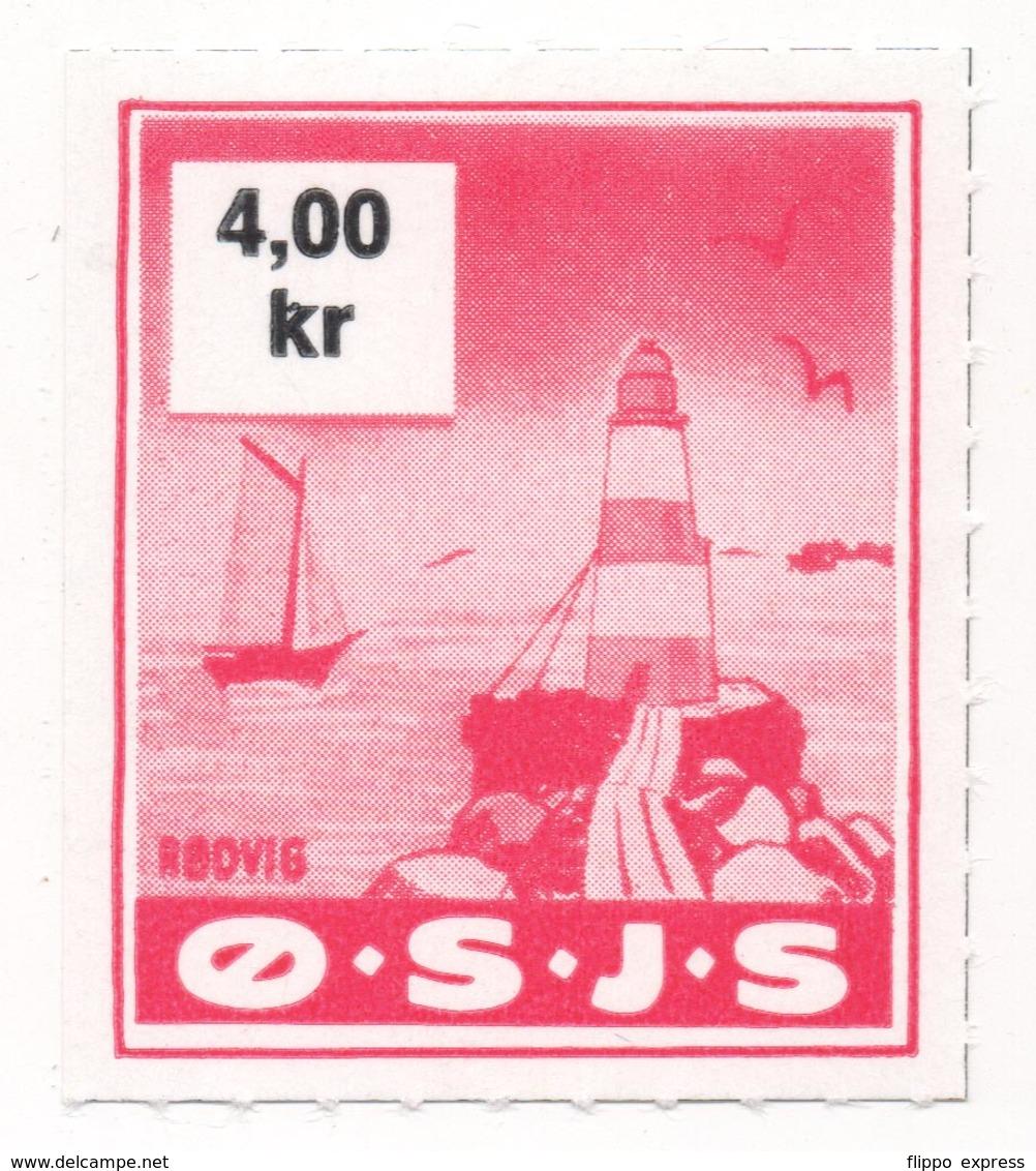 Denmark, O.S.J.S. Railway Parcel Stamp, 4 Krone - Dänemark
