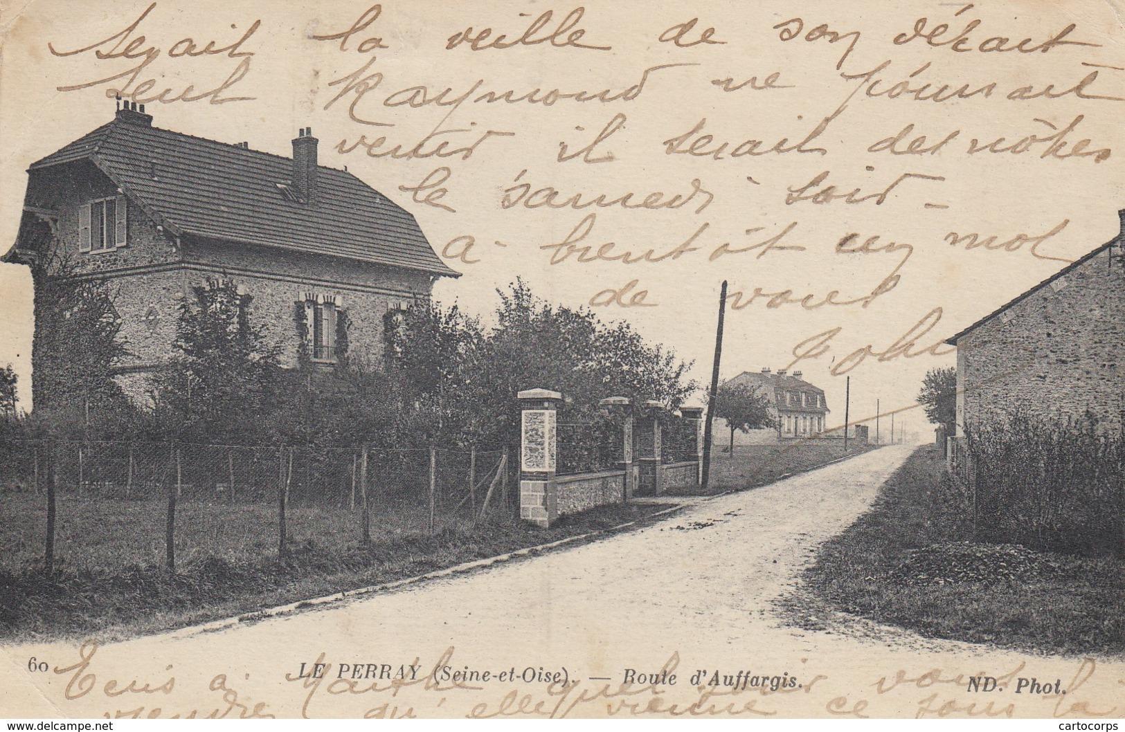 78 - Yvelines - Le Perray-en-Yvelines - Route D'Auffargis - Le Perray En Yvelines