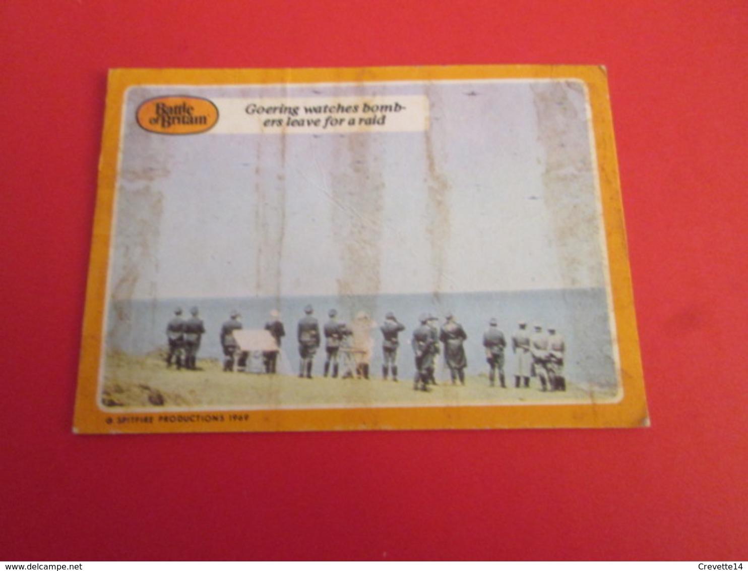 176-200 : N°24  TRADING CARD De 1964 !!! FILM BATTLE OF BRITAIN Publié Par CHEWING GUMS A&BC - X-Files
