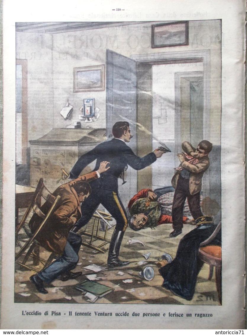 La Tribuna Illustrata 25 Febbraio 1906 Sant'Agata Catania Vesuvio Orsini Marzano - Libri, Riviste, Fumetti