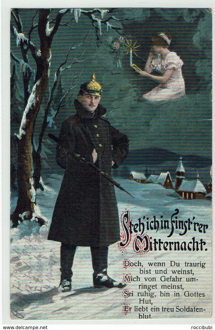 (032..779) Militär, Uniform, Liebe, Heimat, 1915 - Heimat