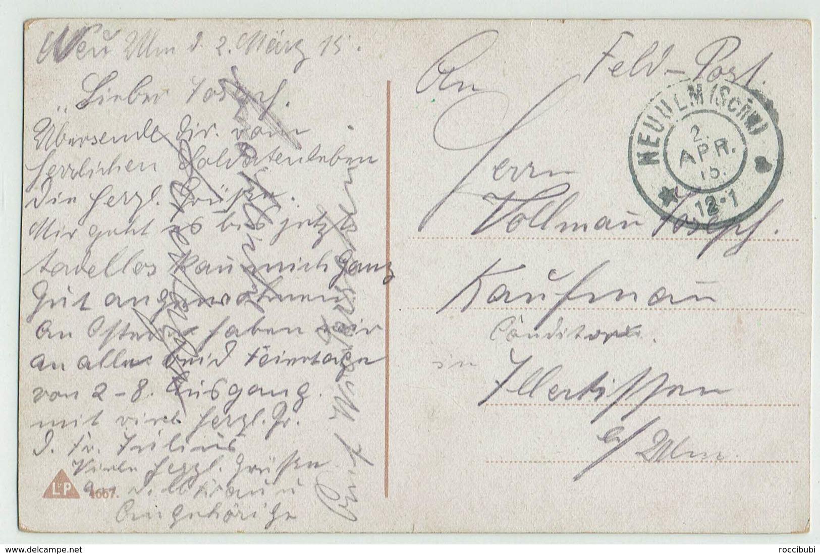 Militär, Uniform, Liebe, Heimat, 1915 - Heimat