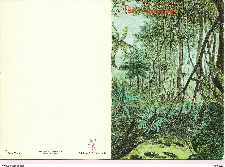 CARTE POSTALE - GUYANE - La Forêt Vierge - Editions G. DELABERGERIE - Viêt-Nam