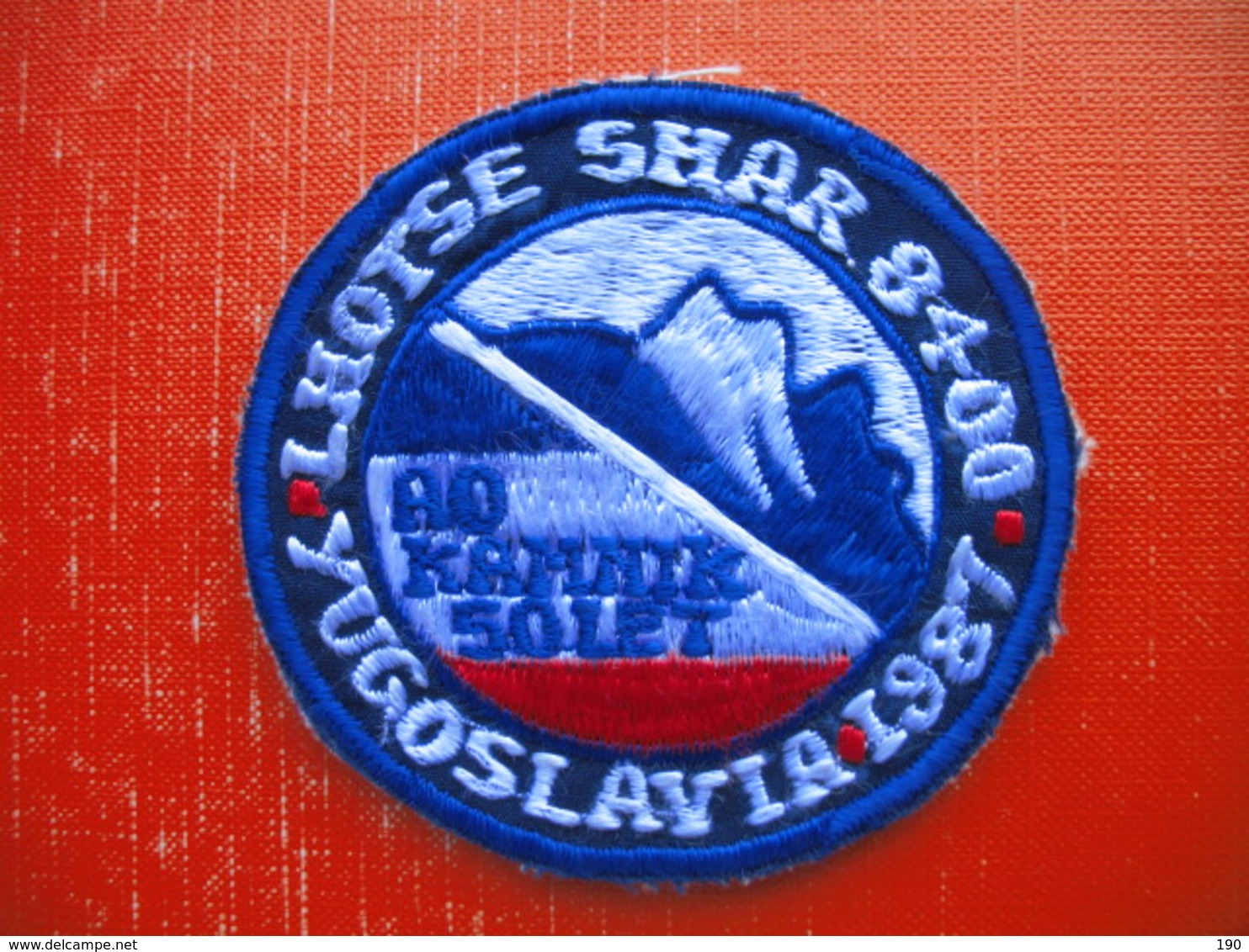 AO KAMNIK 50 LET-YUGOSLAVIA.LHOTSE SHAR 8400(mountain Climbing) - Patches