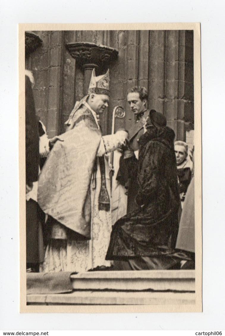 - CPA COUPLE ROYAL BELGE - Hommage De La Musique Belge à St-Rombaut 16.12.1934 - - Familles Royales