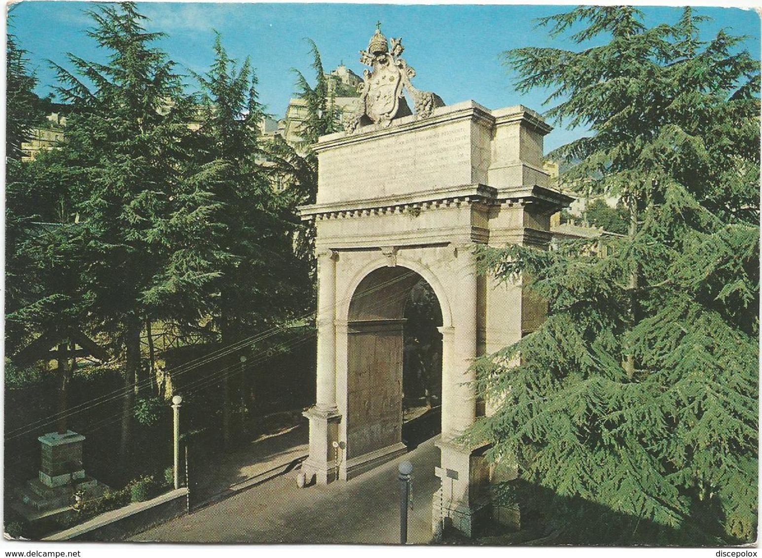 V3595 Subiaco (Roma) - Arco Trionfale Eretto Nel 1789 In Onore Di Pio VI / Viaggiata 1991 - Altre Città
