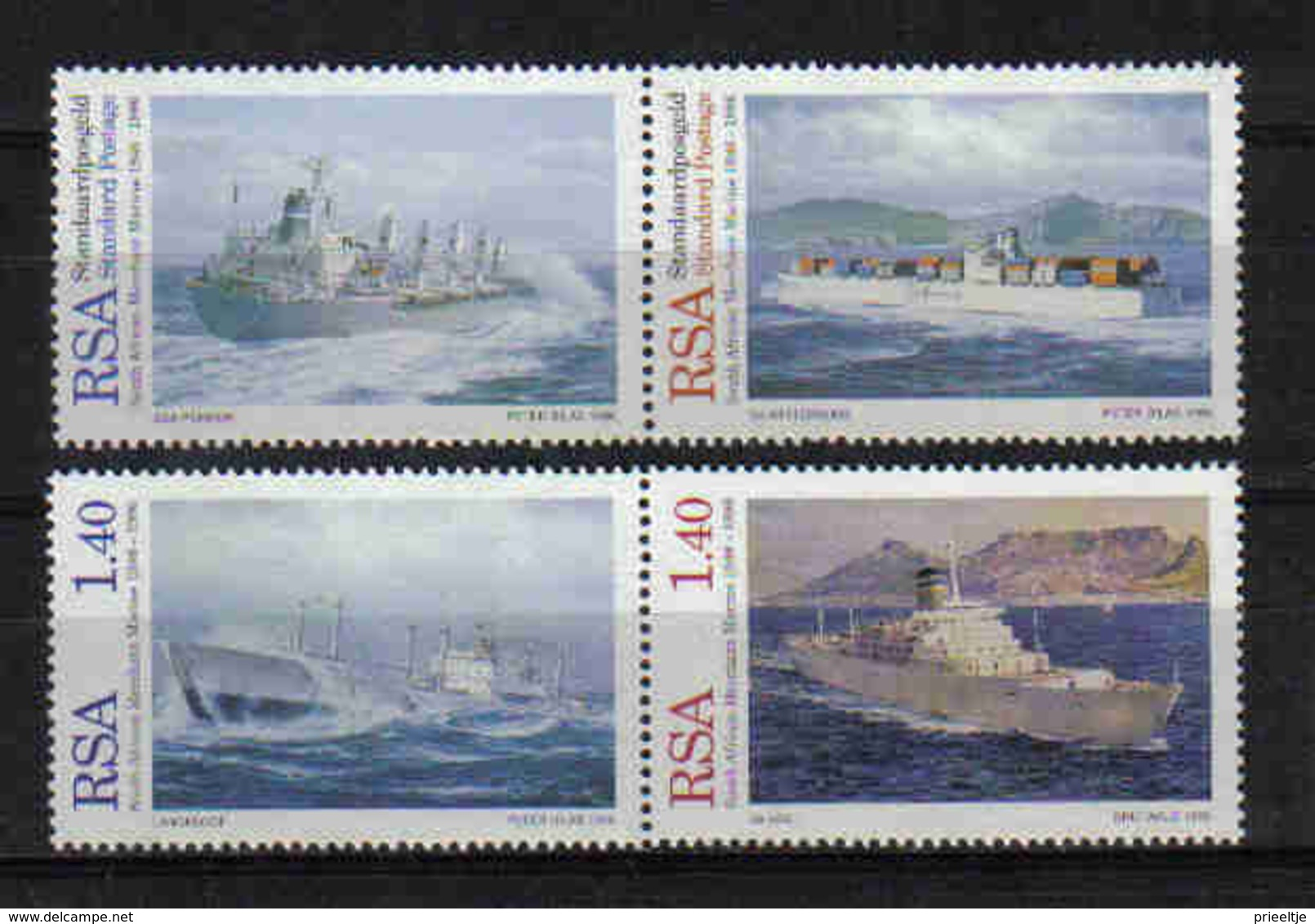 S. Africa 1996 Merchant Ships Y.T. 913/916 ** - Südafrika (1961-...)
