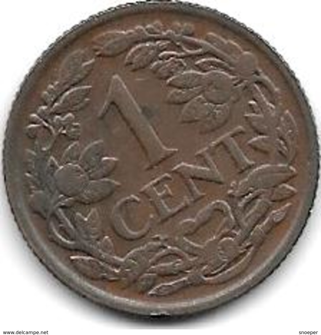 Netherlands 1 Cent 1939  Km 152  Xf+ !! - [ 3] 1815-… : Royaume Des Pays-Bas