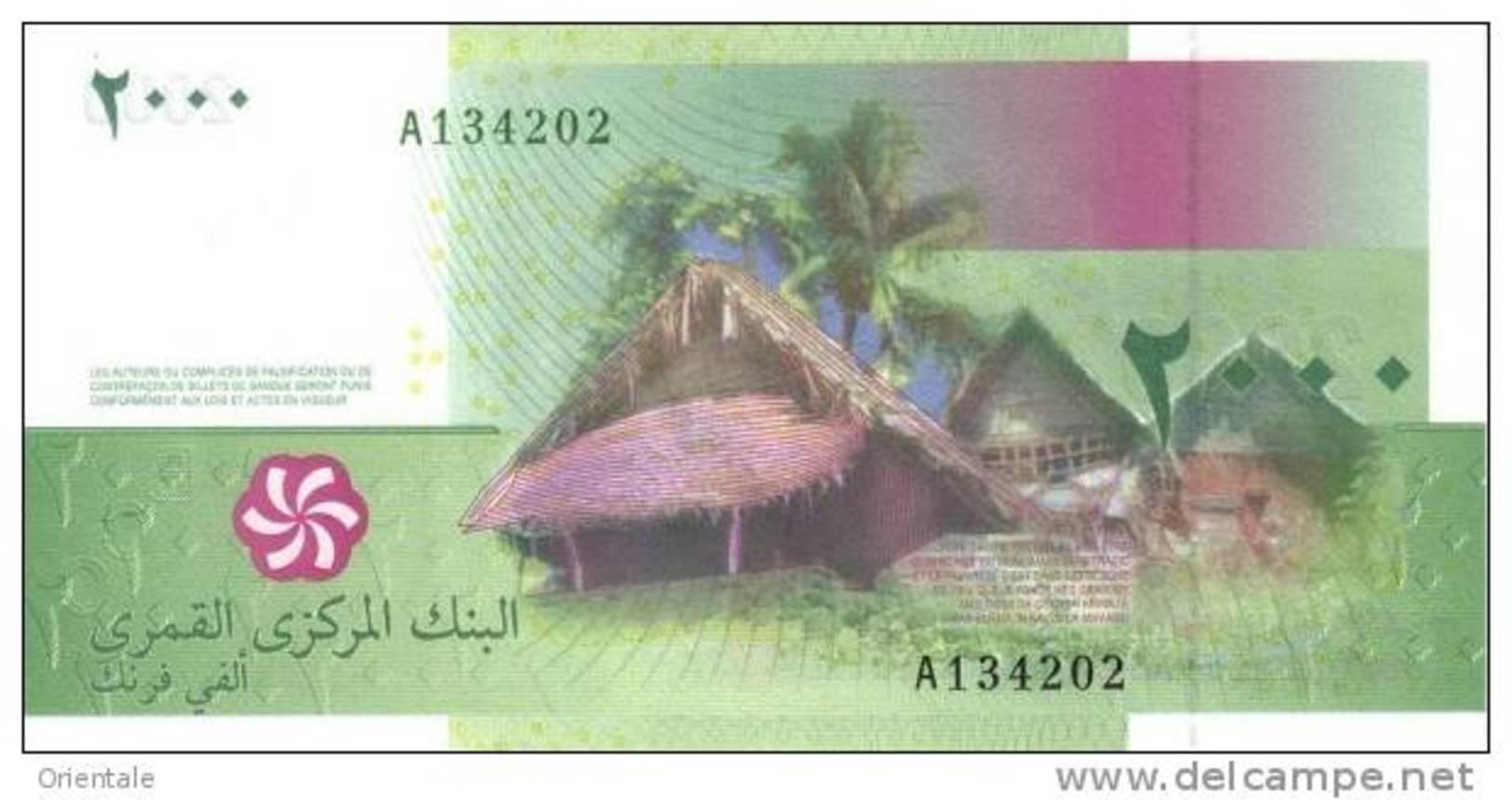 COMOROS P. 17a 2000 F 2005 UNC - Comoren