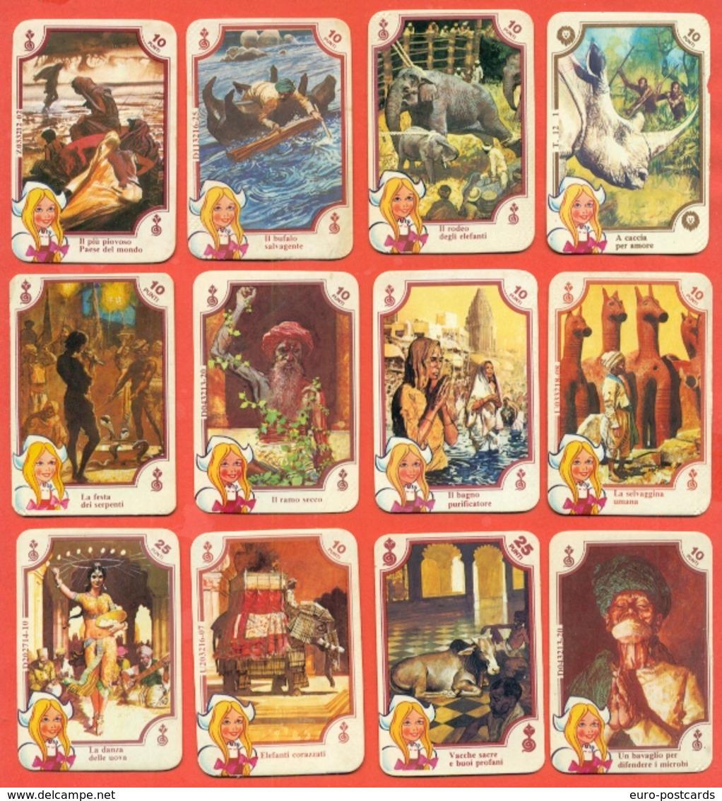 Figurine MIRA LANZA - Trading Cards- Gift Cards --lotto Di 12 Pezzi - Pubblicitari