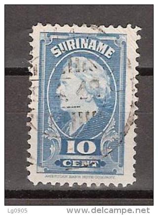 Suriname 229 Used ; Koningin, Queen, Reine, Reina Wilhelmina 1945 - Suriname ... - 1975