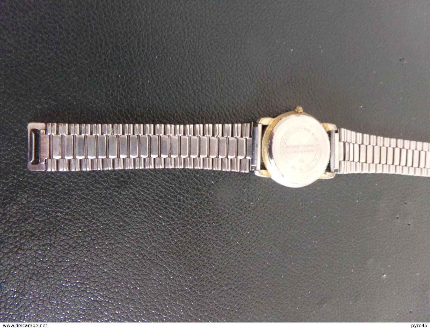 Montre Homme Cadran Et Bracelet Métal Carriage Quartz - Montres Modernes