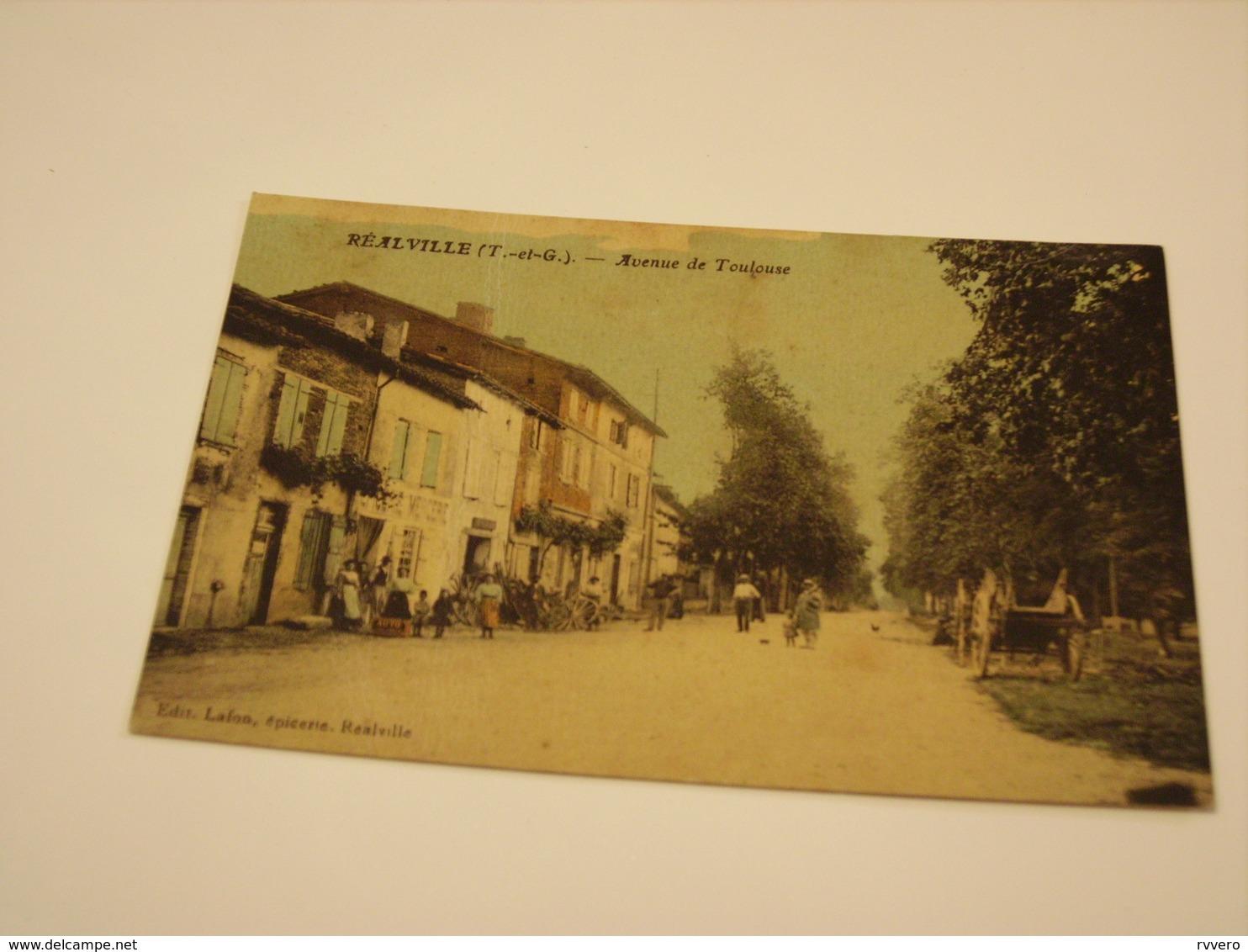 REALVILLE AVENUE DE TOULOUSE - Realville