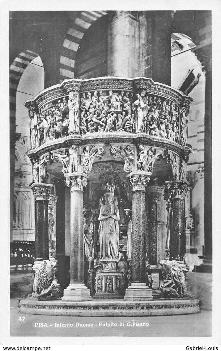 Pisa - Interno Duomo - Pulpito Di G. Pisano - Non Circulé - Pisa