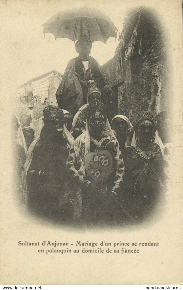 Comoros Comores, Sultanate Of Ndzuwani ANJOUAN, Marriage Of A Prince (1910s) - Comores
