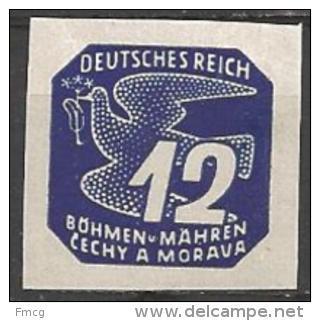 1943 12h, Newspaper, Mint Hinged - Unused Stamps