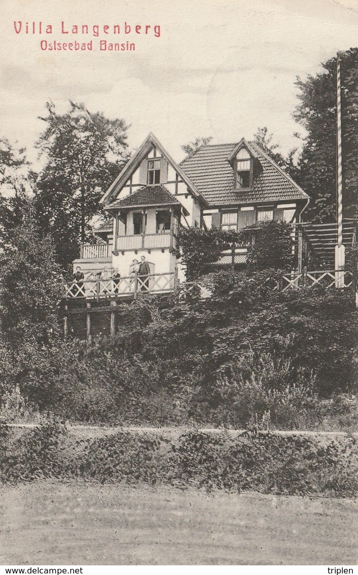 Ostseebad Bansin - Villa Langenberg - Greifswald