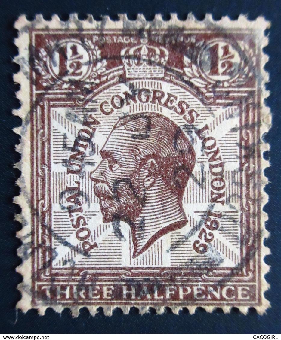 1929 Grande Bretagne  Yt 172Z  .King George V - Postal Union Congress Oblitéré Used - Oblitérés