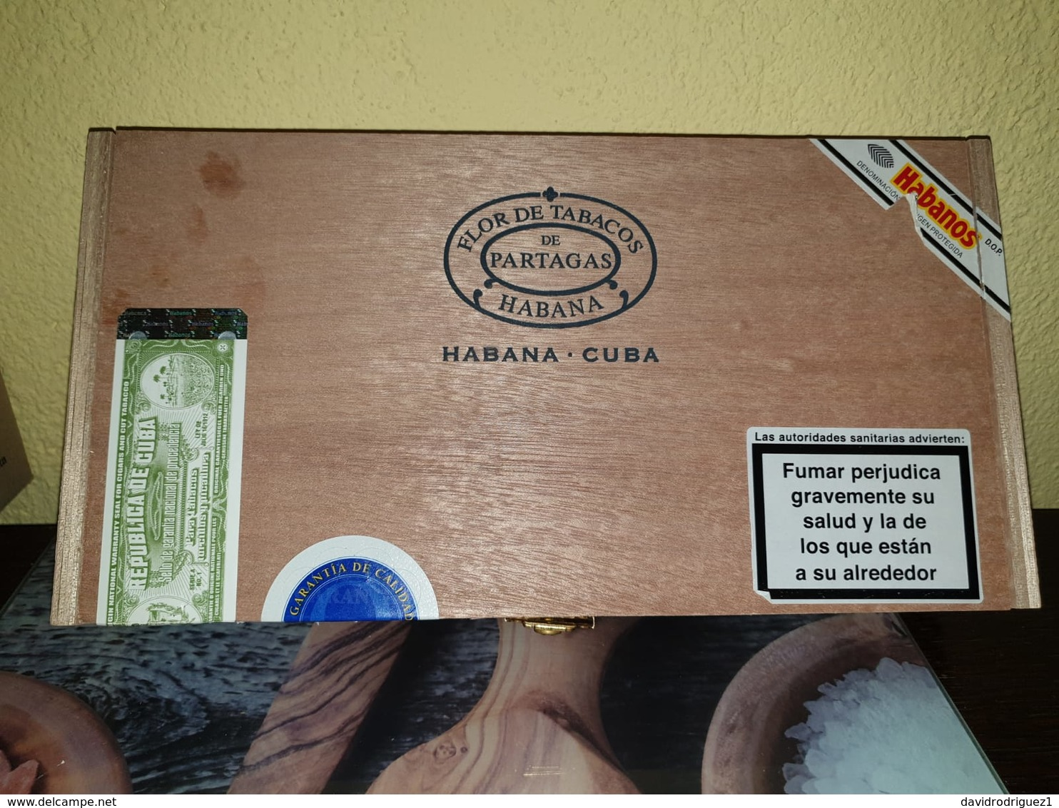 Cajas De Puros De Partagas - Zigarrenetuis