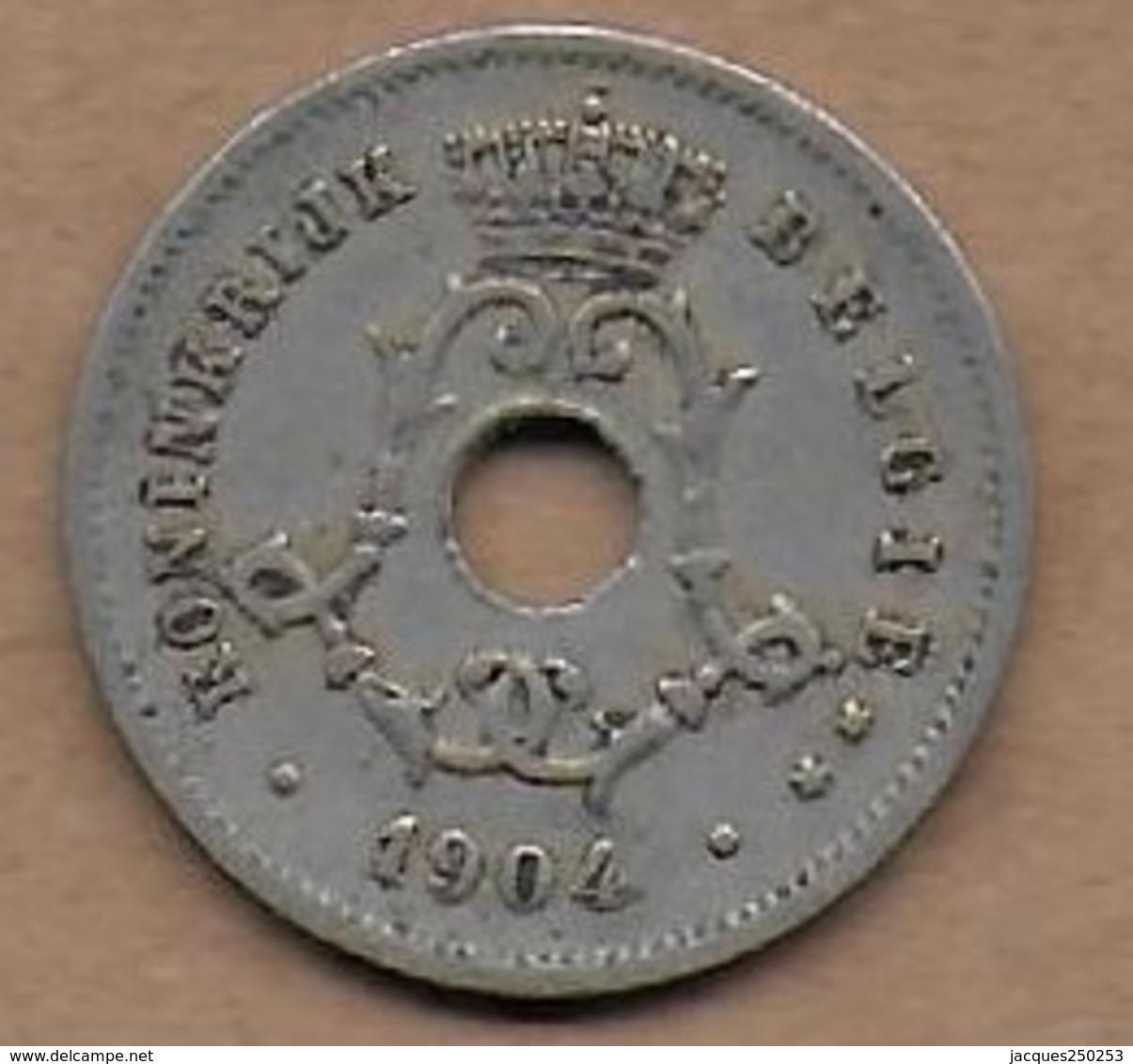 5 Centimes 1904 FL - 1865-1909: Leopold II
