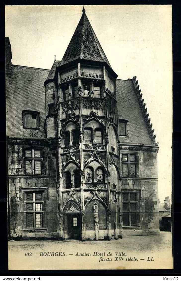 K03720)Ansichtskarte Bourges - Bourges