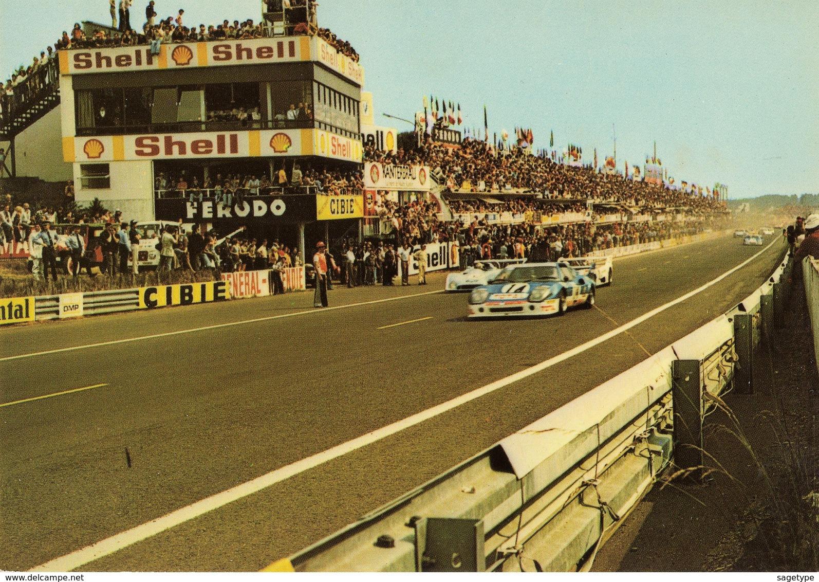 72 . LE MANS . CIRCUIT DES 24 HEURES . Voitures En Course - Artaud Freres 2 - E/5711 - Le Mans
